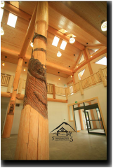 Post & Beam - Timber Frame Hybrids - Canadian Pride Log & Timber